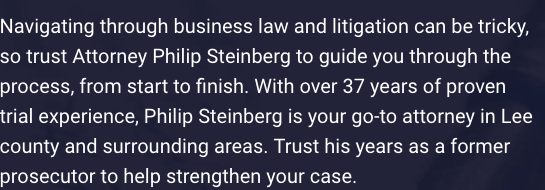 philip steinberg law